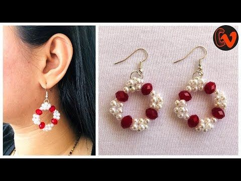 How To Make Beaded Earrings At Home