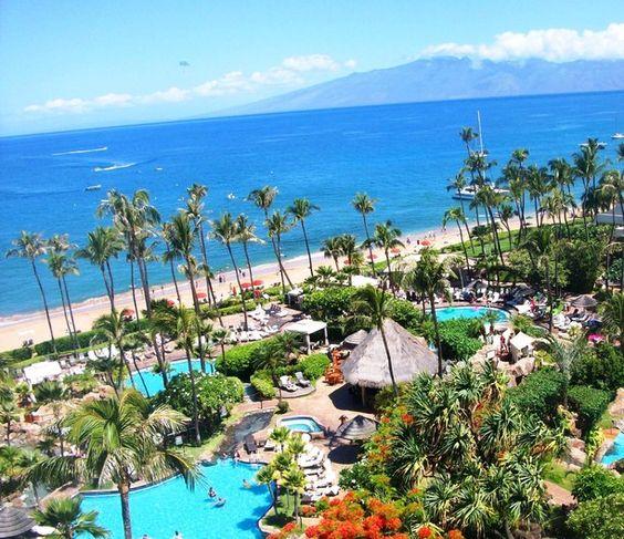 The Westin Maui Resort & Spa, Ka'anapali, Kaanapali, Maui, Hawaii — by Danielle Grant. Beautiful vacation spot