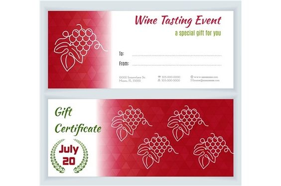 Wine industry certidicate template by Sunshine Art Shop on @creativemarket