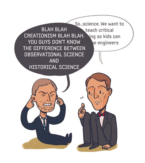 Is creationism consistent with science?