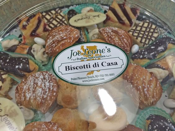 Biscotti di Casa, pick up in store or order through our Catering Sales Desk — at Joe Leone's Italian Specialties.