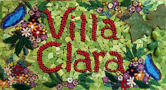 Rotulo Entrada Apartamentos Villa Clara