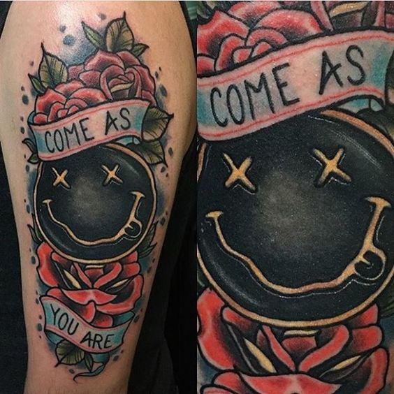 Come As You Are With These Sick Nirvana Tattoos