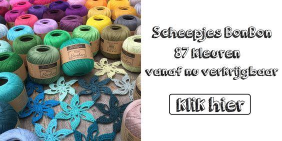 #scheepjes #maxi #bonbon #katoen #wol #garen #acryl #haken #breien #haaknaalden #breinaalden #handwerkwinkel #hobby  http://atelierlavivere.nl/
