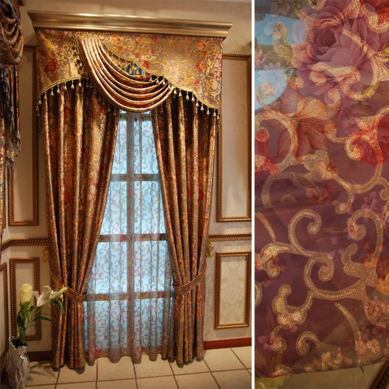 Luxury window curtain - Lisa Markey $120 (60% off) | Beautiful ...