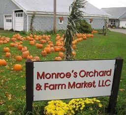 Monroe's Orchard and Farm Market in Hiram