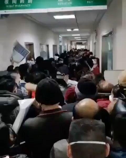هكذا تبدو مستشفيات الصين الآن بعد تفشي فايروس كورونا كورونا