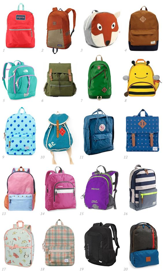 20 great backpacks for kids of all ages | 100 Layer Cakelet ...
