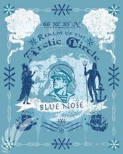 Blue Nose SP00581-vintage-military-aviation-travel-poster-art-print-gift
