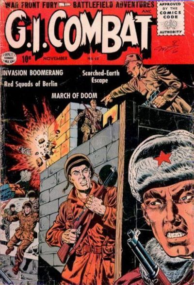 """""""GI Combat"""" Issue 42 by DC Comics."""