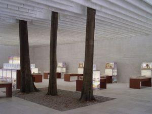 Nordic Pavilion at the Venice Biennale (1962) by Sverre Fehn, Recipient of the 1997 Pritzker Prize.