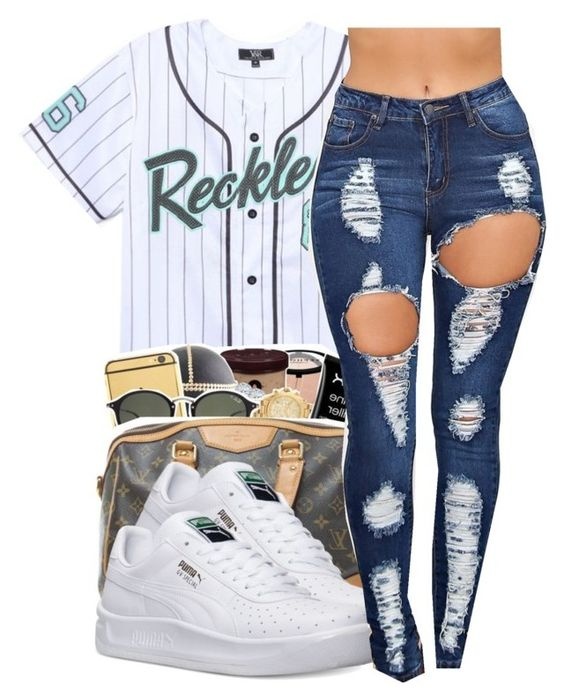 """""""reckless⚡"""" by trapsoul4life ❤ liked on Polyvore featuring Young & Reckless…"""