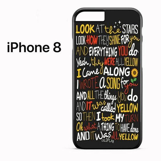 Coldplay #lyrics #art #poetry   Coldplay lyrics, Iphone 8 cases ...