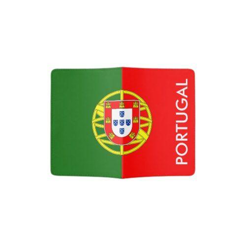Portuguese Flag Passport Holder Portugal Pride Zazzle Com Portuguese Flag Personalized Flag Flag