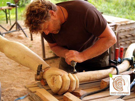 Skulpturen aus Holz - http://www.mario-mannhaupt.de/skulpturen-aus-holz