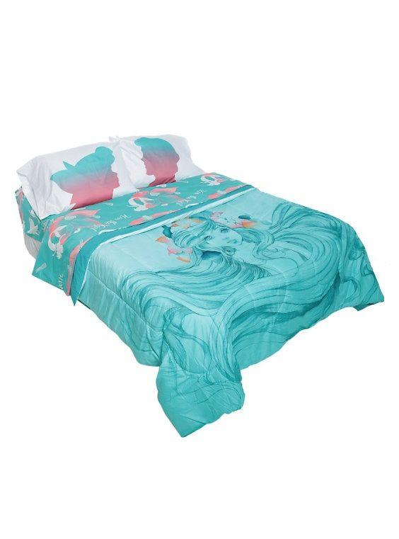 Mermaid Comforter, Little Mermaid Bedding Full Size