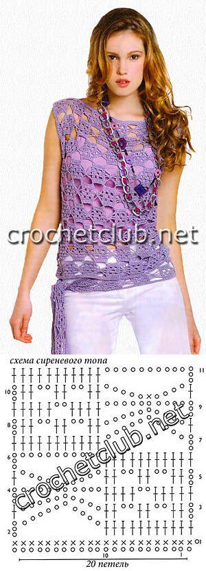 crochet blouse...♥ Deniz ♥