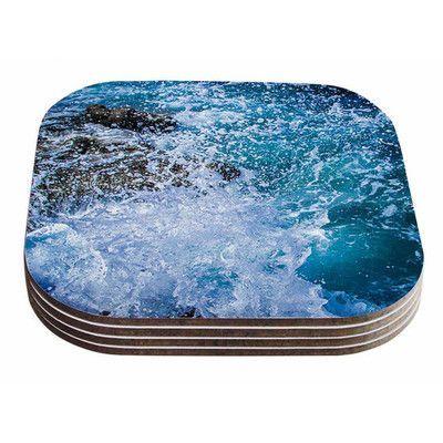 KESS InHouse La Jolla Shores by Juan Paolo Coaster