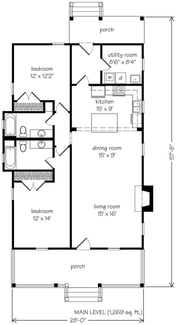 Floor Plans House Plans And Southern Living On Pinterest