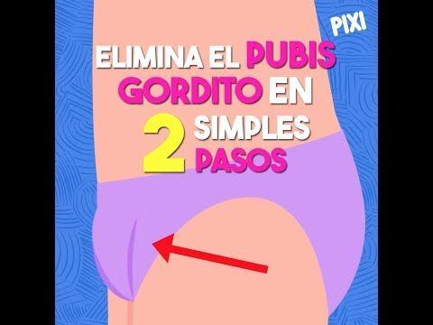 Como quemar grasa del pubis