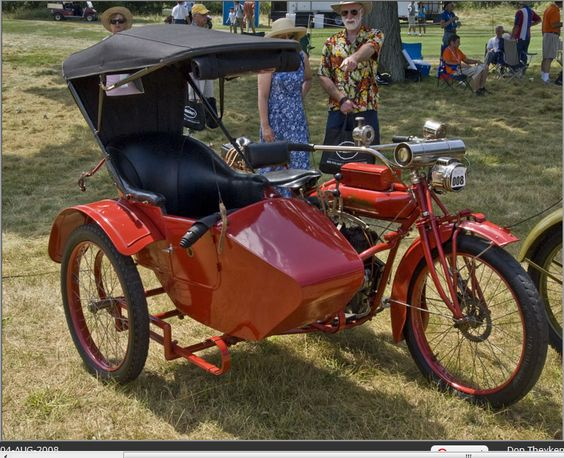 1916 Indian Motorcycle with Sidecar