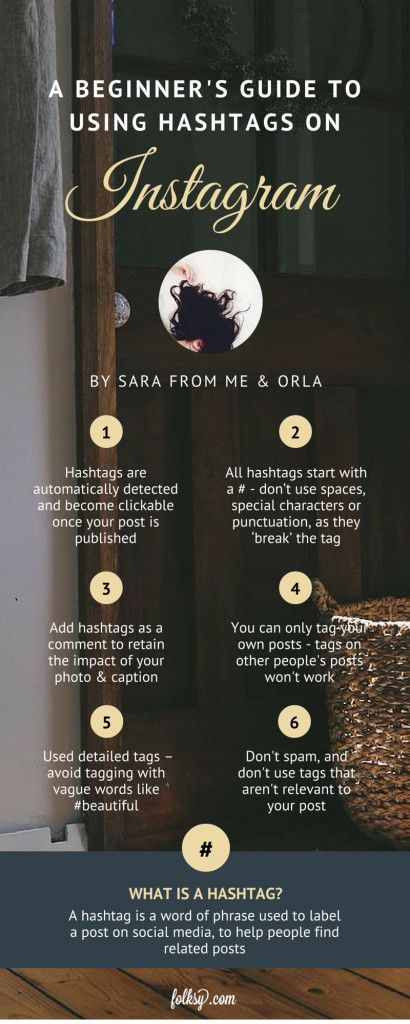 A beginner's guide to hashtags on Instagram by Me & Orla