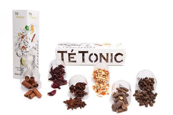 Estuche con 6 botánicos para Gin&Tonic. Aromatiza tu Gin&Tonic combinando nuestra selección. http://tuaperitivo.com/gintonic/161-estuche-6-botanicos-te-tonic.html