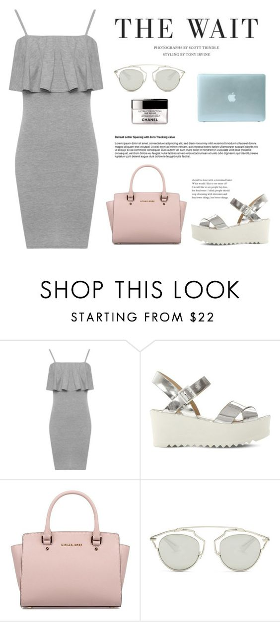 """""""The wait"""" by wearall ❤ liked on Polyvore featuring WearAll, Steve Madden, Michael Kors and Christian Dior"""