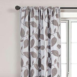 slate accacia curtains
