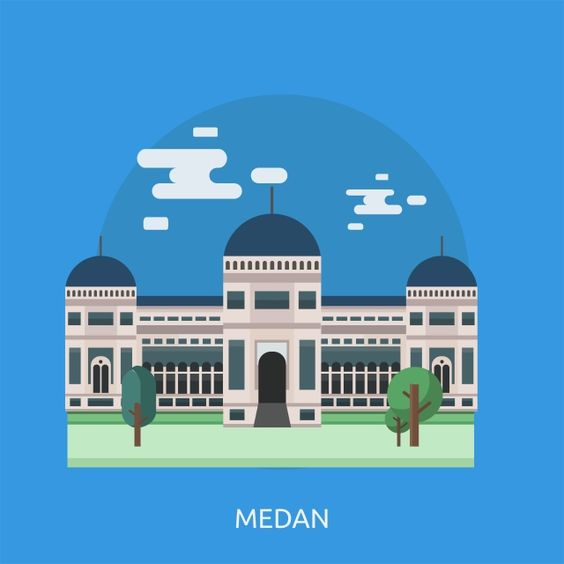 Medan Conceptual Illustration Design Conceptual Illustration Illustration Design Medan