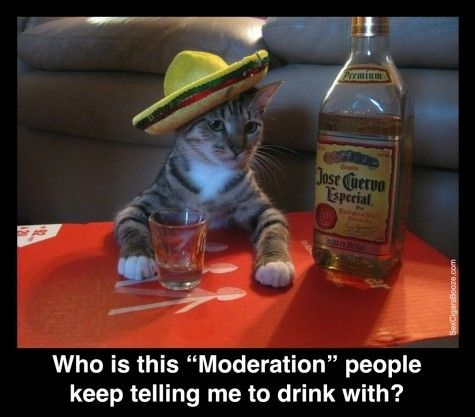 Drink With Moderation