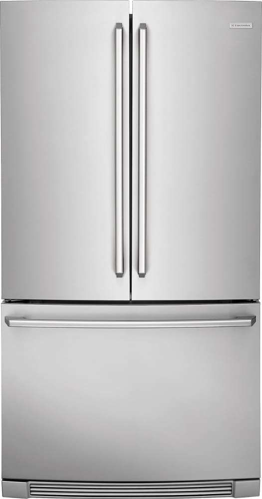 Lowest Price On Electrolux Ei23bc32ss Iq Touch 22 4 Cu Ft Stainless Steel French D Stainless Steel French Door Refrigerator Refrigerator Electrolux
