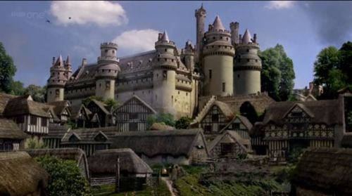 Camelot, where Luciana stays as a guest