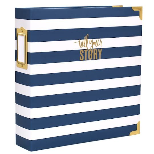 Heidi Swapp Storyline Watercolor D Ring Photo Album Kit