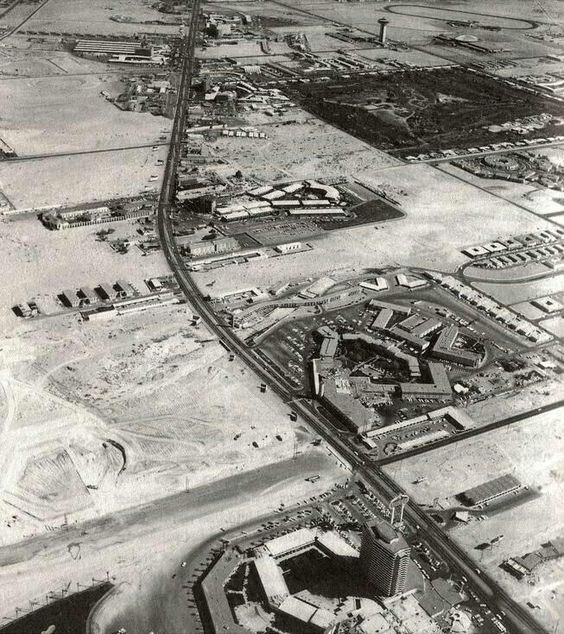 This is what Las Vegas strip looked like in 1954 when they started preparing for the 2014http://www.towniemeeting.com/ at The Cosmopolitan April 23-26 in only 164 days. Register your entire team today.