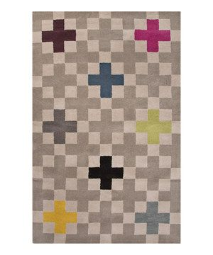 Ashwood Geometric Wool Rug by Jaipur Rugs #zulily #zulilyfinds