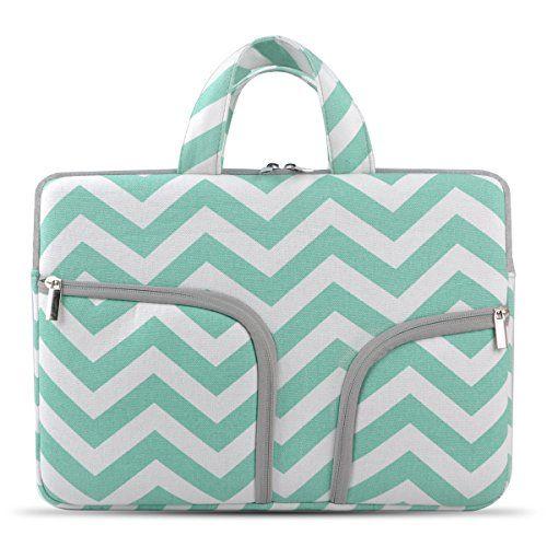 Hestech 15 6 Canvas Laptop Sleeve Case With Handle Compat Https Www Amazon Com Dp B01e5g4nio Ref Cm Sw R Pi Dp U Chromebook Case Hp Laptop Case Chromebook