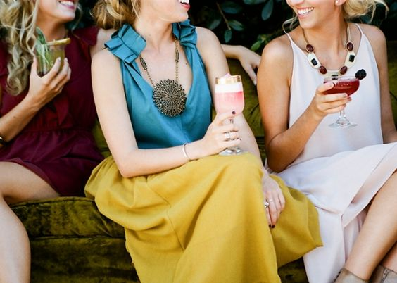 Bachelorette Cocktail Party Inspiration #primarypetals