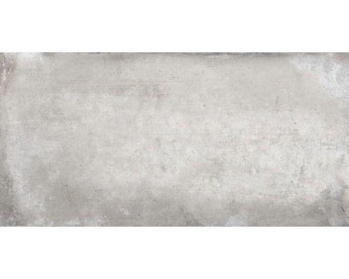 Feinsteinzeug Wand Und Bodenfliese Metropolitan Grau 30 X 60 Cm Bodenfliesen Feinsteinzeug Fliesen