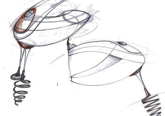 Drawing Hand Mixer ~ Hand drawn sketch of mixer dandelion design