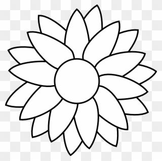 Flower Free Rhinestone Template Downloads Sunflower Flower Coloring Pages Clipart Sunflower Coloring Pages Flower Coloring Pages Printable Flower Pictures