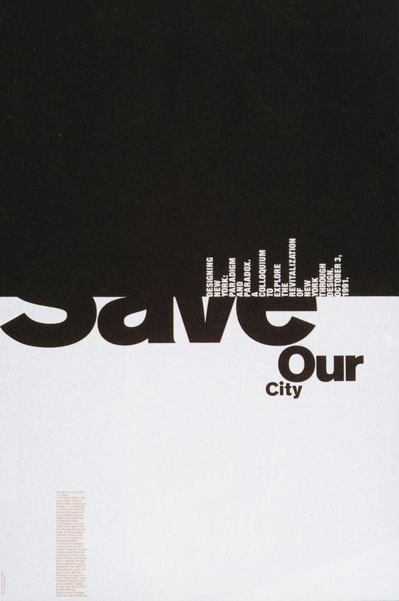 Michael Bierut - save our city