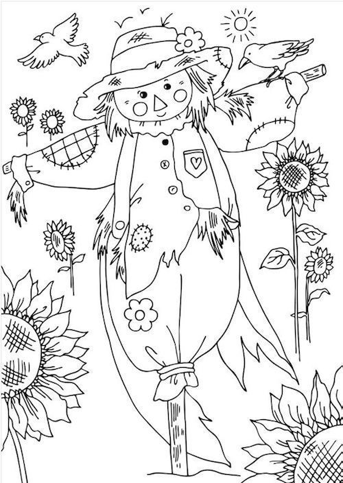 Transzfer Kepek Oszi Es Halloween Temaban Pagi Decoplage Fall Coloring Pages Coloring Pages Halloween Coloring Pages