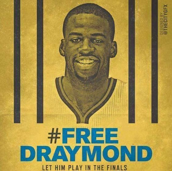 Let Draymond Green play in the Finals! #FreeDraymond