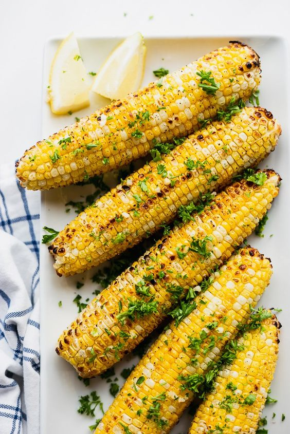Summer takes a turn when sweet corn starts to show up! Who doesn't love the simplicity of some good 'ol corn on the cob?!
