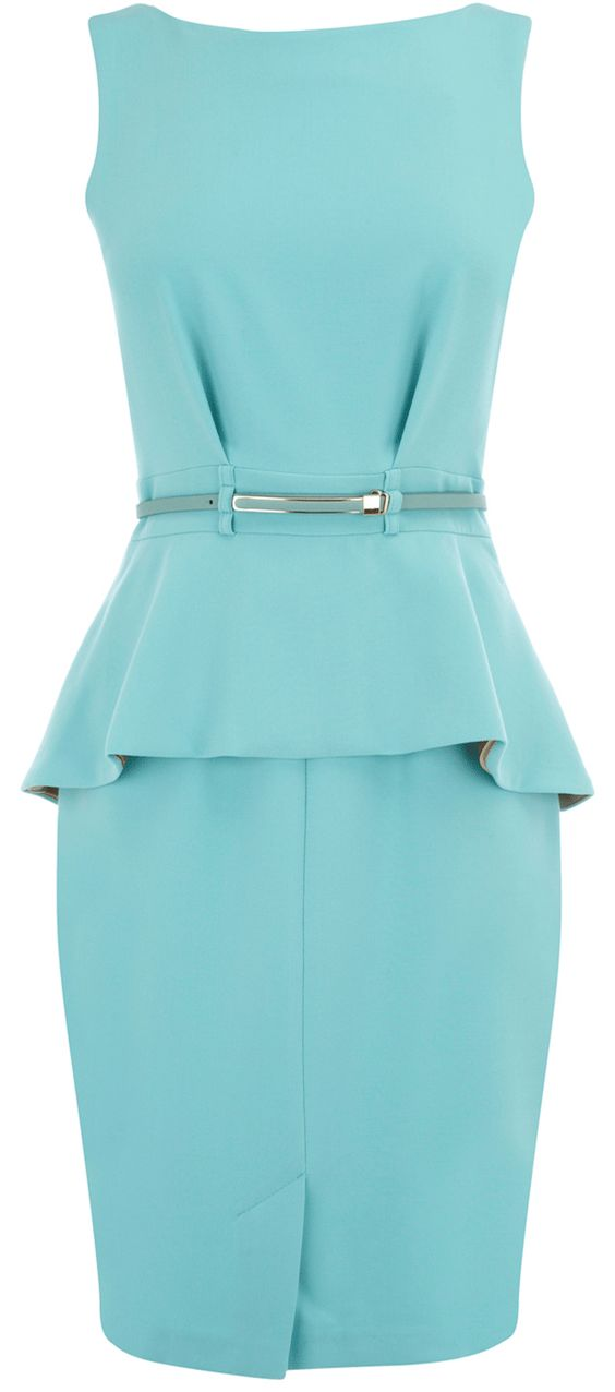 stunning couture peplum perfect
