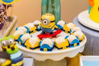 Divina Festivitá: Festa Minions - Meu Malvado Favorito