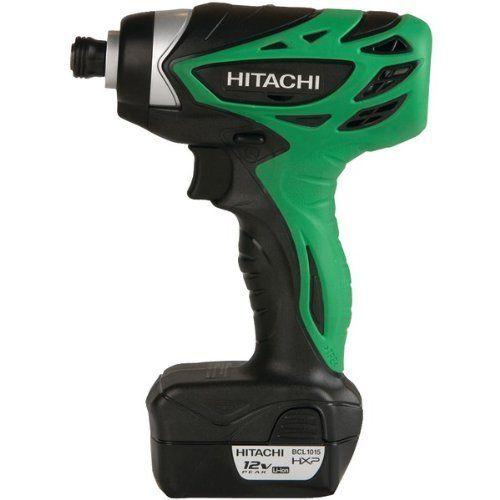 Hitachi Wh10dfl 12 Volt Peak Impact Driver 1 5 Amp Hour Li Ion 841 Inch Lbs Torque 2 Batteries Discontinued By Manufact Hitachi Impact Driver Impact Drivers
