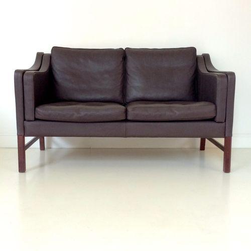 Scandinavian Brown Leather Sofa 1970s Leather Sofa Sofa Sale Sofa
