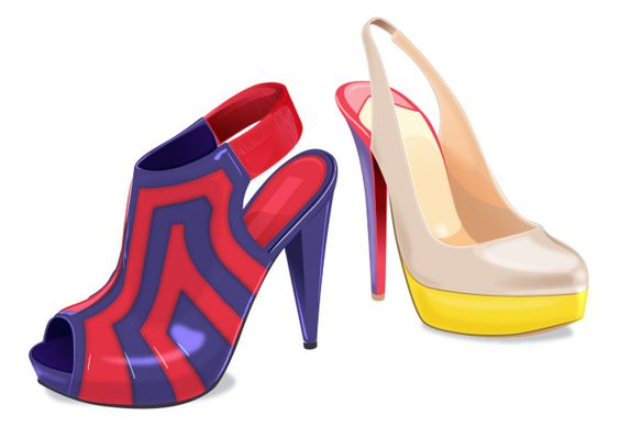 colorblocked shoes i m walking on